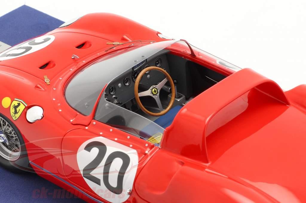 Ferrari 275P #20 Vinder 24h LeMans 1964 Guichet, Vaccarella 1:18 LookSmart