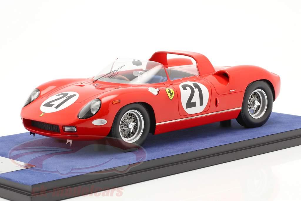 Ferrari 250P #21 Ganador 24h LeMans 1963 Bandini, Scarfiotti 1:18 LookSmart