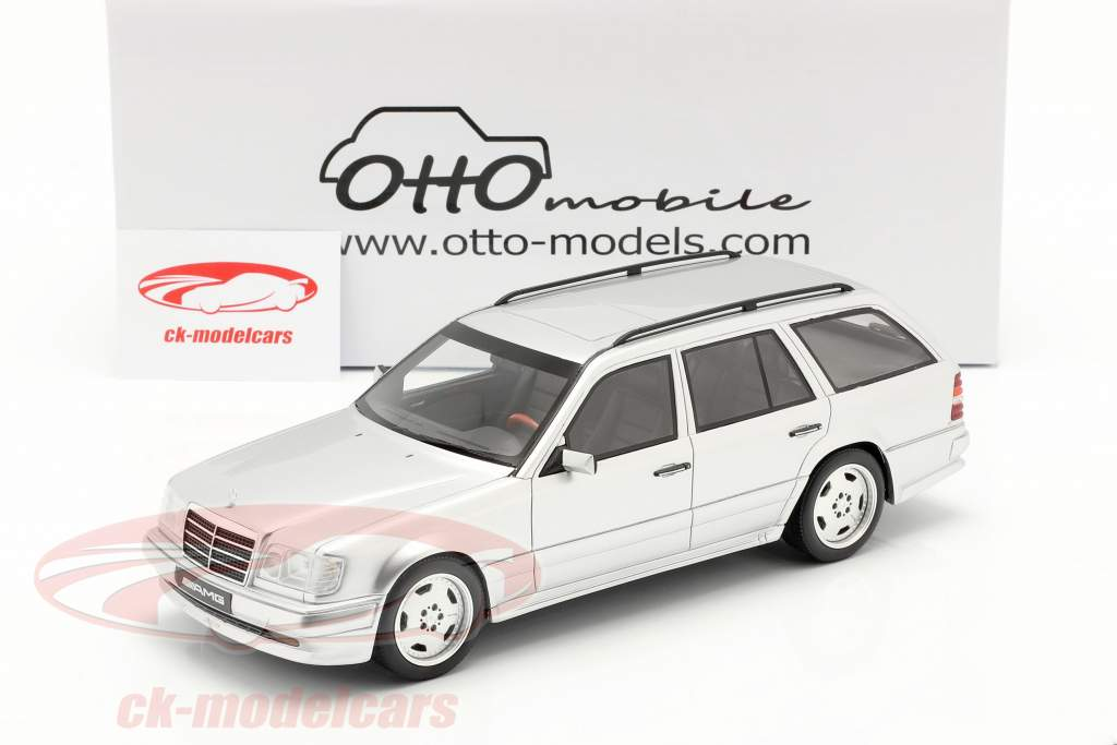 Mercedes-Benz AMG E class E36 (S124) 1995 brilliant silver 1:18 OttOmobile