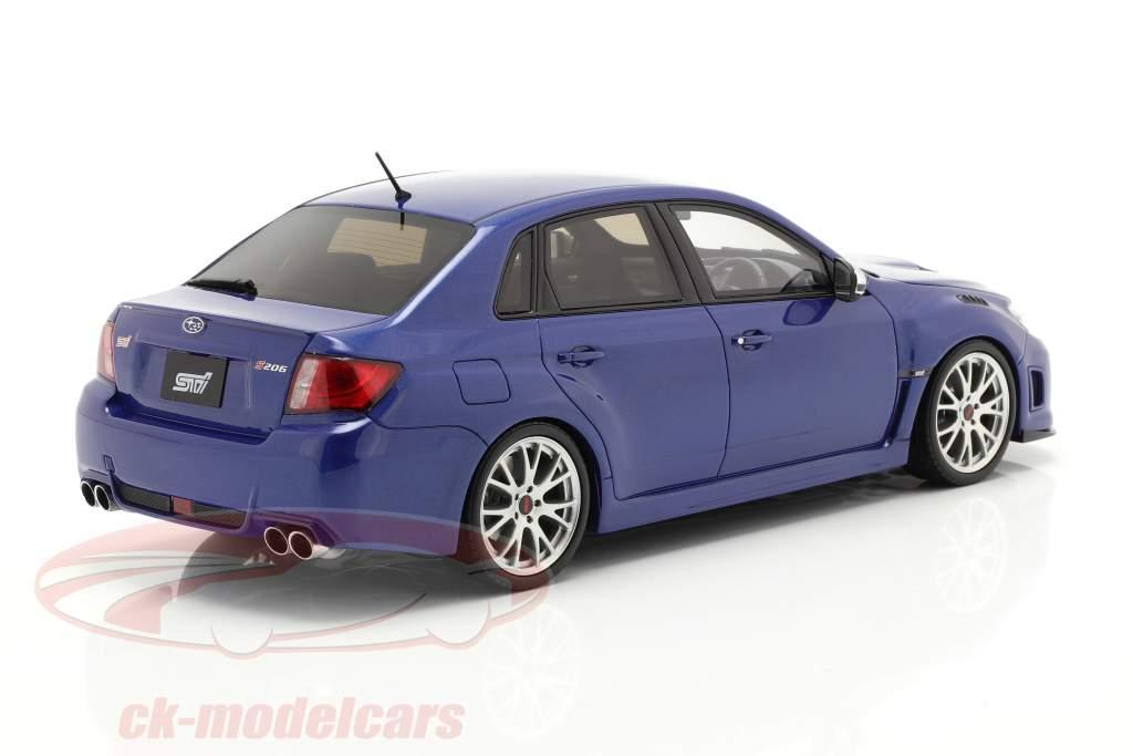 Subaru Impreza WRX STI year 2011 mica blue 1:18 OttOmobile