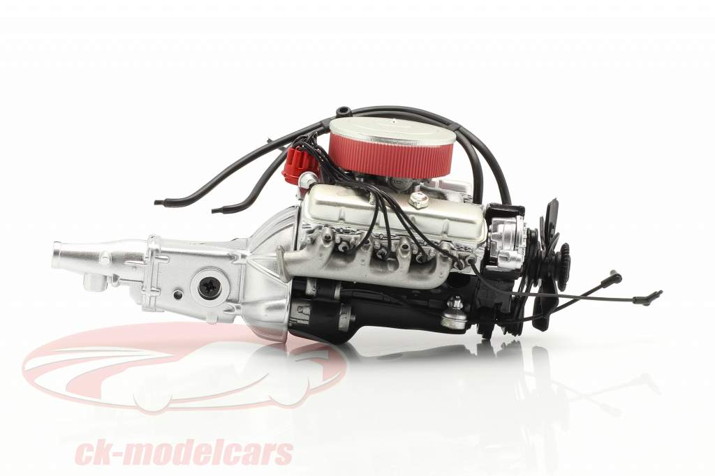 GForce 454 engine and transmission 1:18 GMP