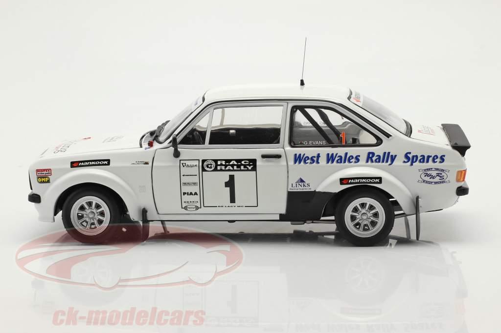 Ford Escort RS 1800 #1 ganador Roger Albert Clark Rallye 2009 1:18 SunStar