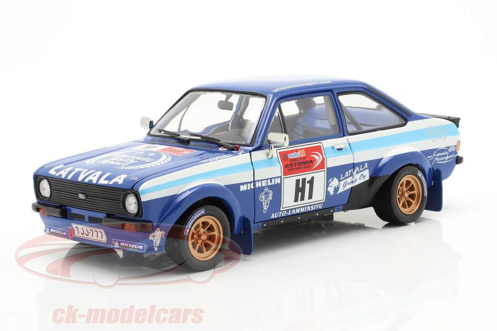 Ford Escort RS 1800 #1 winner Rallye Estonia Historic 2012 1:18 SunStar