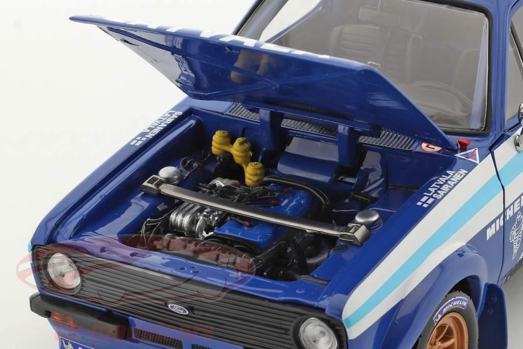 Ford Escort RS 1800 #1 gagnant Rallye Estonia Historic 2012 1:18 SunStar