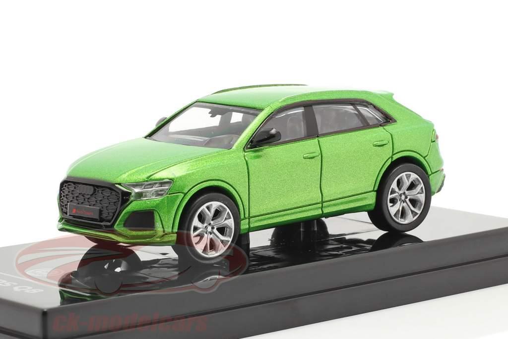 Audi RS Q8 Année de construction 2018 Java vert métallique 1:64 Paragon Models