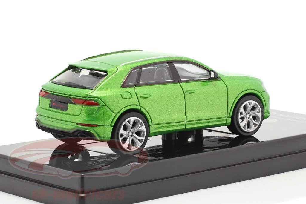 Audi RS Q8 Bouwjaar 2018 Java groen metalen 1:64 Paragon Models
