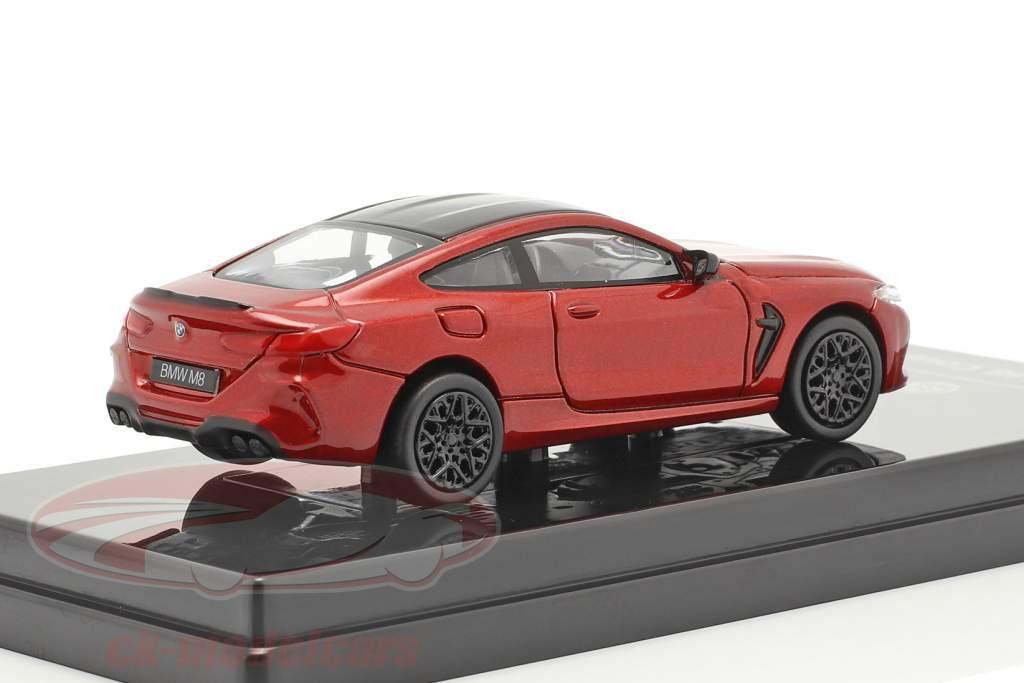 BMW M8 Coupe Anno di costruzione 2018 motegi rosso 1:64 Paragon Models