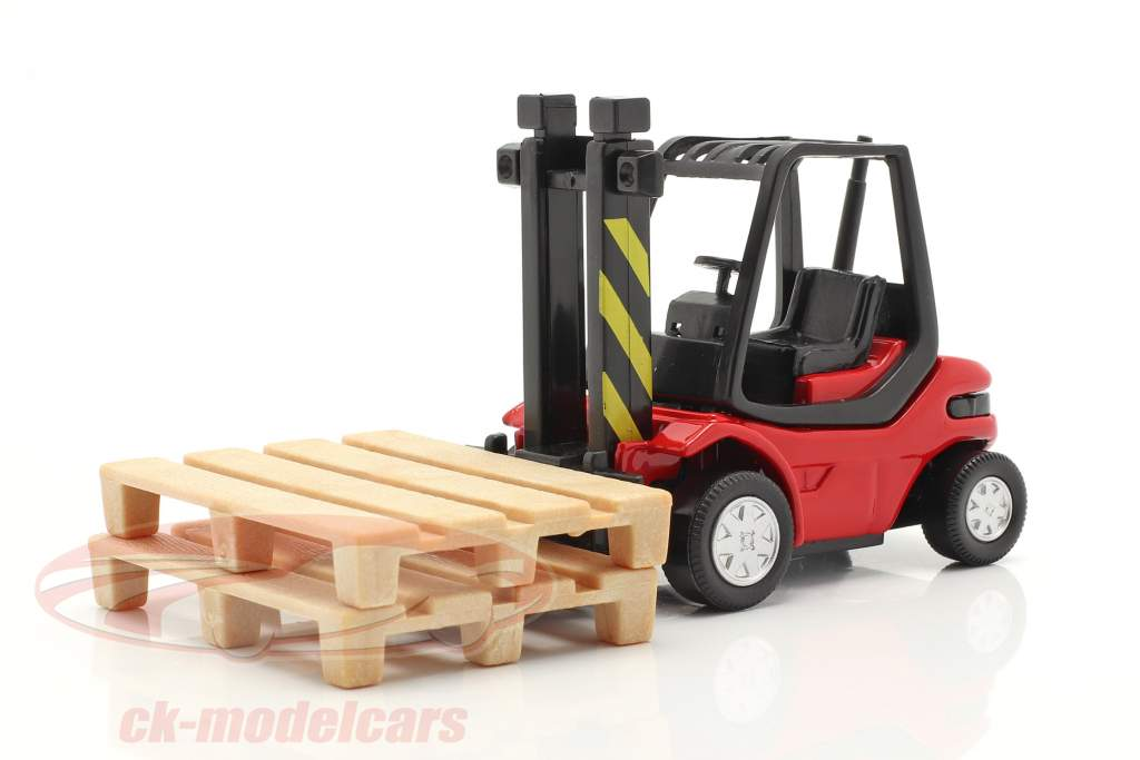Empilhadeira Caminhão vermelho / Preto 1:43 Cararama