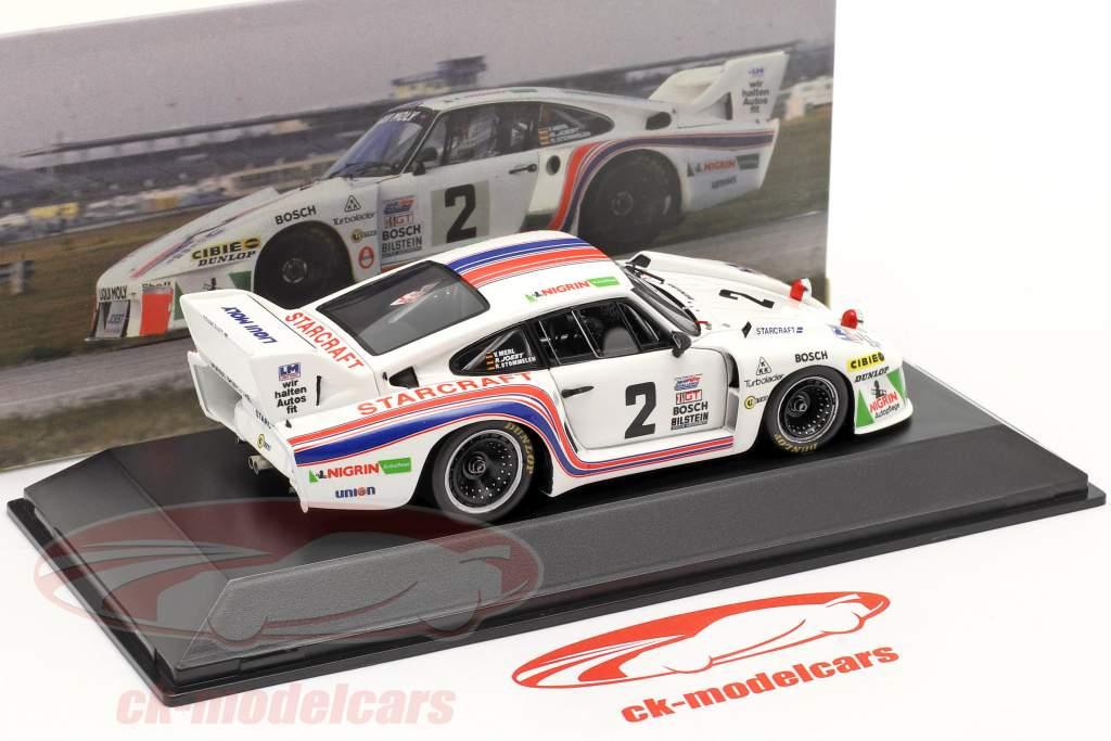 Porsche 935 #2 Gagnant 24h Daytona 1980 Joest, Stommelen, Merl 1:43 Spark