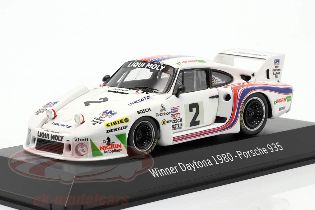Porsche 935 #2 Winnaar 24h Daytona 1980 Joest, Stommelen, Merl 1:43 Spark