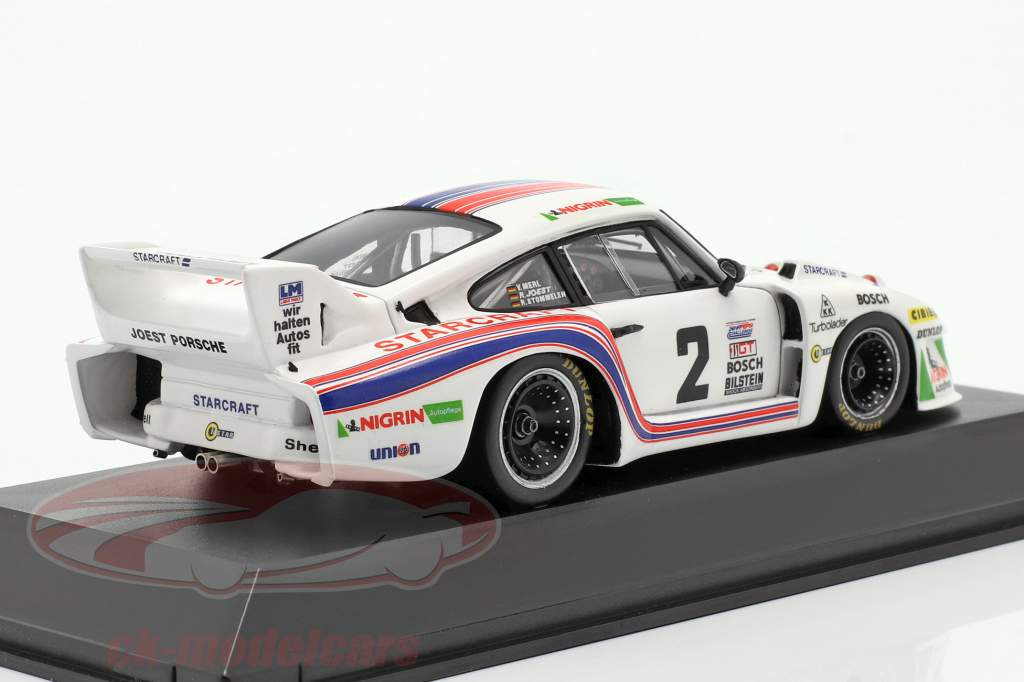 Porsche 935 #2 Ganador 24h Daytona 1980 Joest, Stommelen, Merl 1:43 Spark