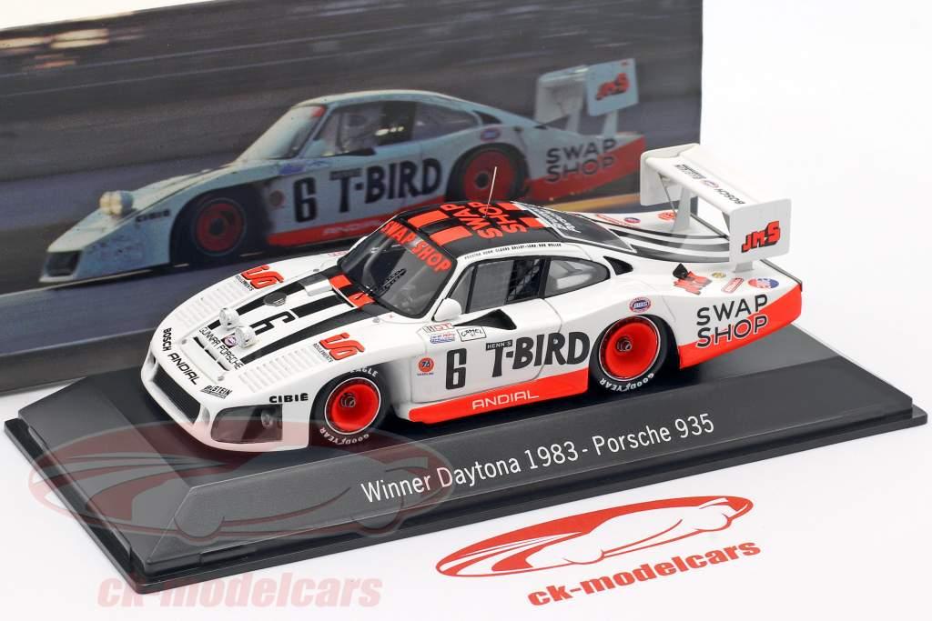 Porsche 935 #6 Gagnant 24h Daytona 1983 Henn's Swap Shop Racing 1:43 Spark