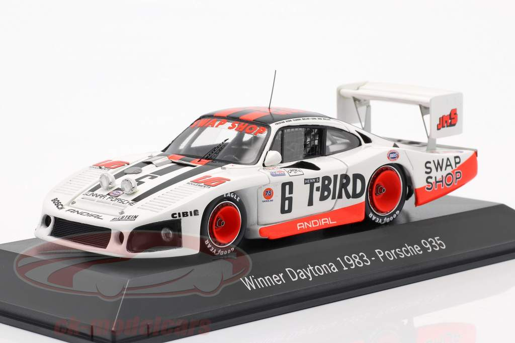 Porsche 935 #6 Vincitore 24h Daytona 1983 Henn's Swap Shop Racing 1:43 Spark