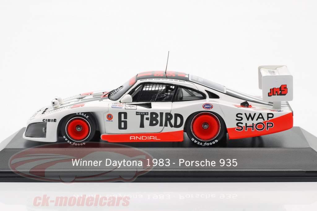 Porsche 935 #6 Vencedor 24h Daytona 1983 Henn's Swap Shop Racing 1:43 Spark