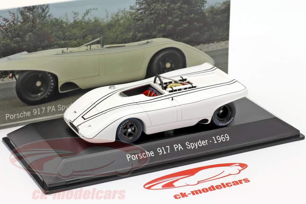 Porsche 917 PA Spyder Prøve Bil Weissach 1969 1:43 Spark