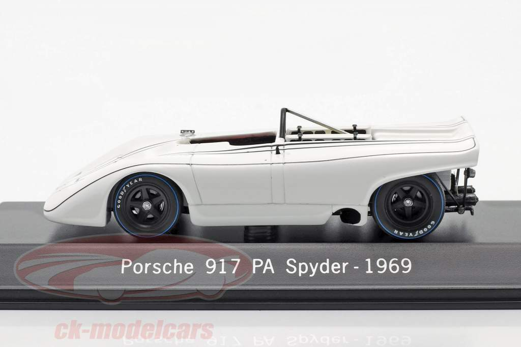 Porsche 917 PA Spyder Prueba Coche Weissach 1969 1:43 Spark