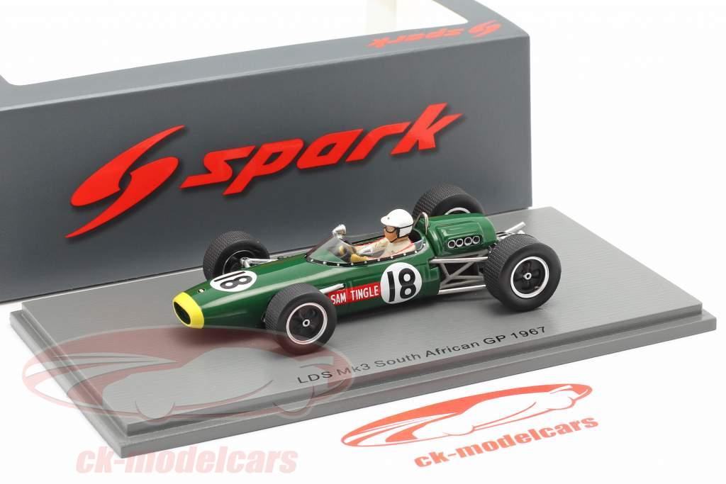 Sam Tingle LDS Mk3 #18 Sud africano GP formula 1 1967 1:43 Spark