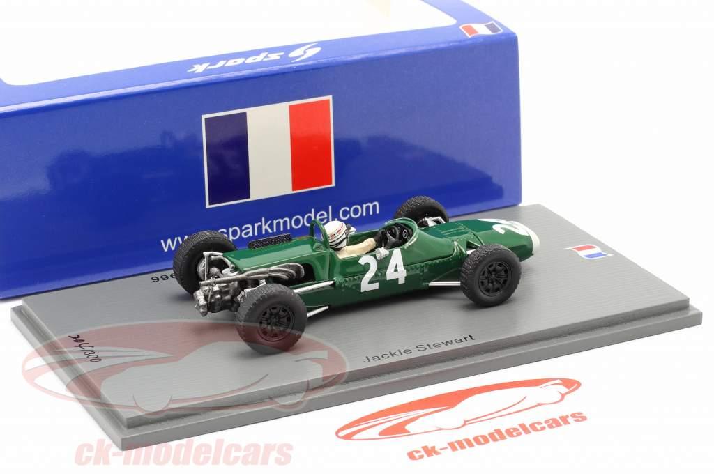 Jackie Stewart Matra MS5 #24 4. plads GP de Pau formel 2 1966 1:43 Spark