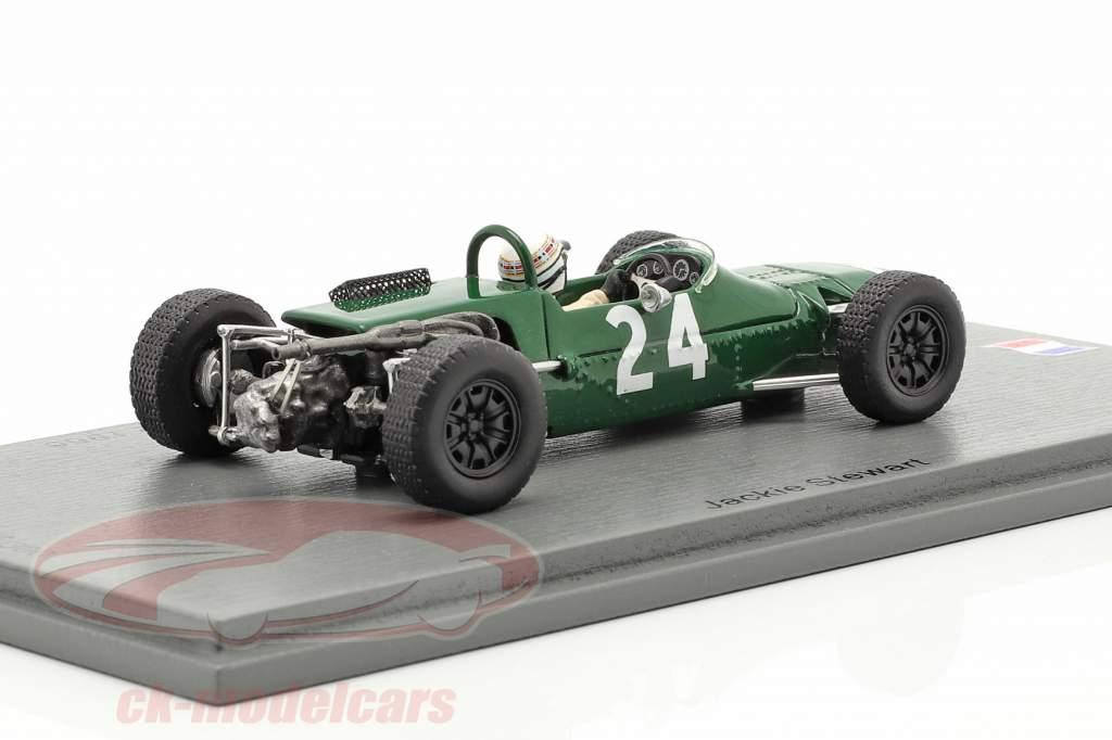 Jackie Stewart Matra MS5 #24 4 ° GP de Pau formula 2 1966 1:43 Spark