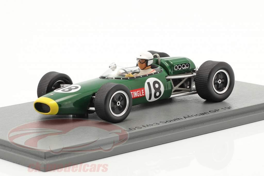 Sam Tingle LDS Mk3 #18 Sul africano GP Fórmula 1 1967 1:43 Spark