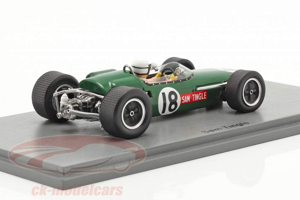 Sam Tingle LDS Mk3 #18 zuiden Afrikaanse GP formule 1 1967 1:43 Spark