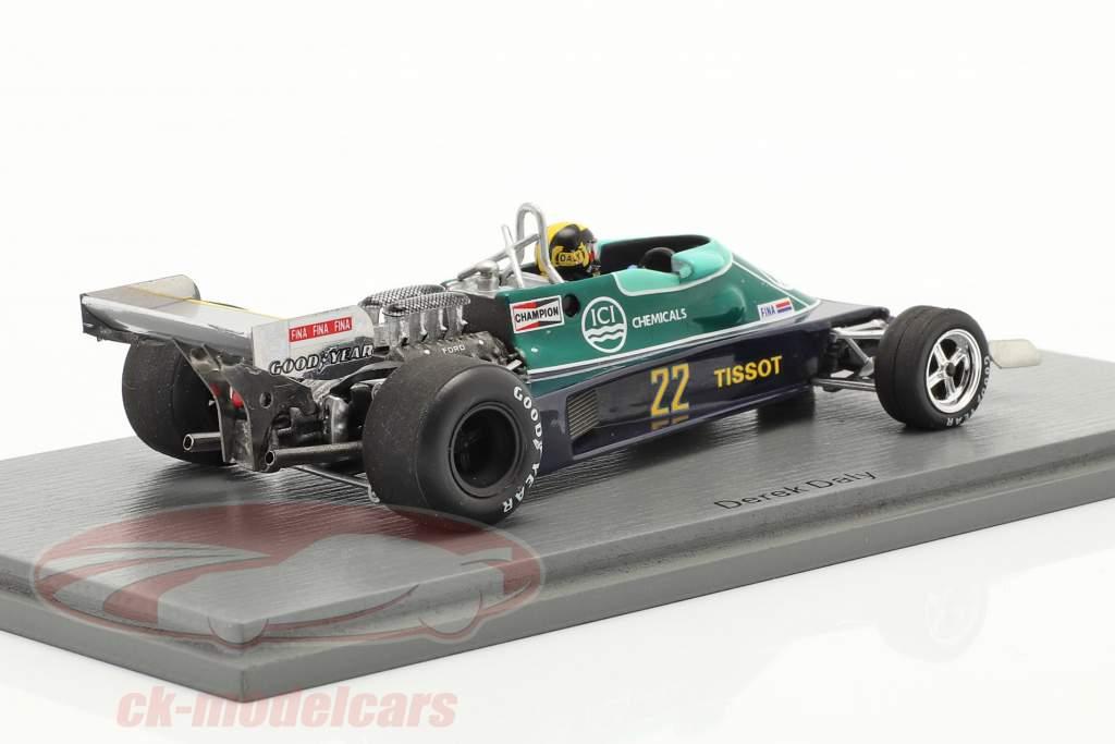 Derek Daly Ensign N177 #22 Niederlande GP Formel 1 1978 1:43 Spark