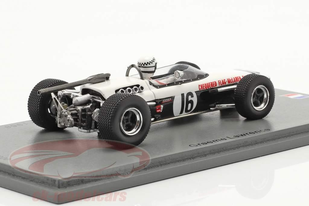 Graeme Lawrence McLaren M4A #16 GP de Pau Formel 2 1968 1:43 Spark