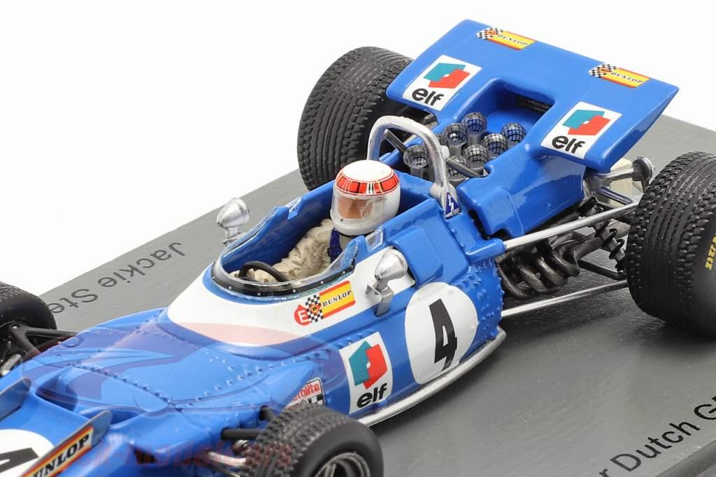 J. Stewart Matra MS80 #4 Ganador holandés GP fórmula 1 Campeón mundial 1969 1:43 Spark