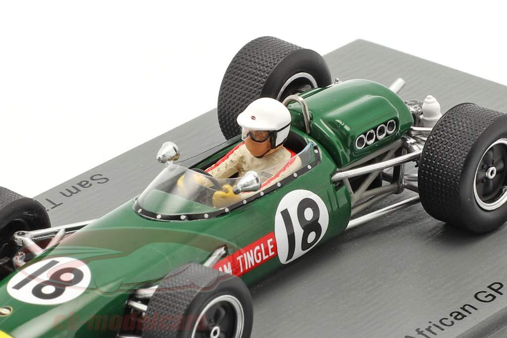 Sam Tingle LDS Mk3 #18 Sud africain GP formule 1 1967 1:43 Spark