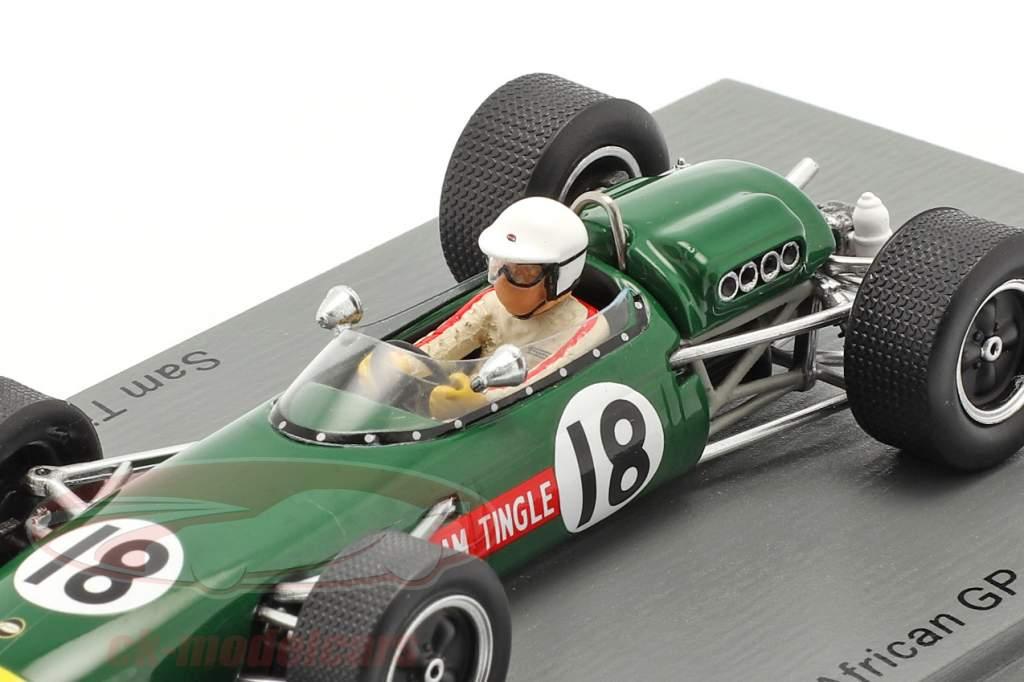 Sam Tingle LDS Mk3 #18 Sur africano GP fórmula 1 1967 1:43 Spark