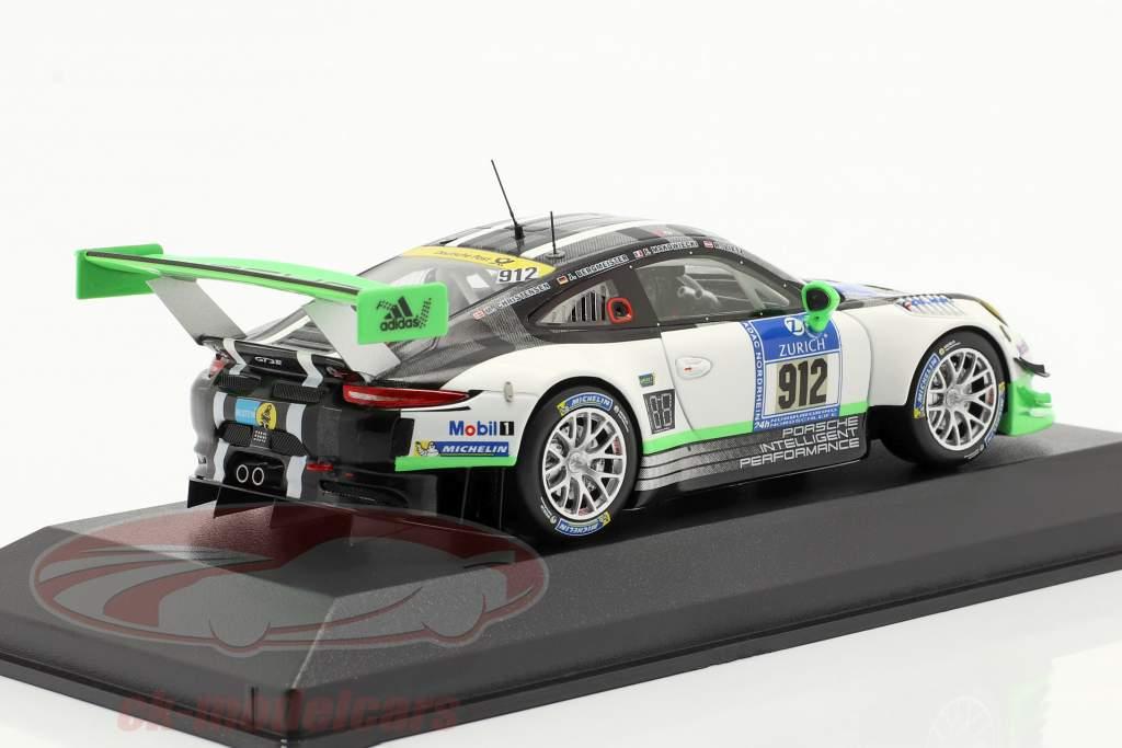 Porsche 911 GT3 R #912 24h Nürburgring 2016 Manthey Racing 1:43 Minichamps