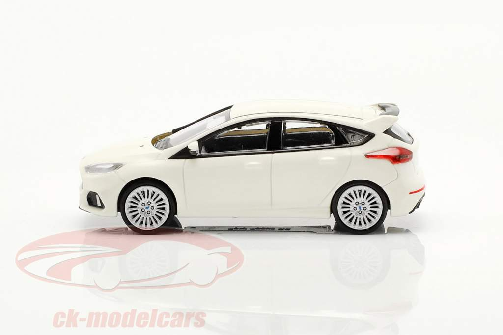 Ford Focus RS an 2018 blanc 1:87 Minichamps