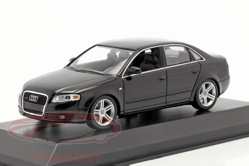 Audi A4 año 2004 negro 1:43 Minichamps