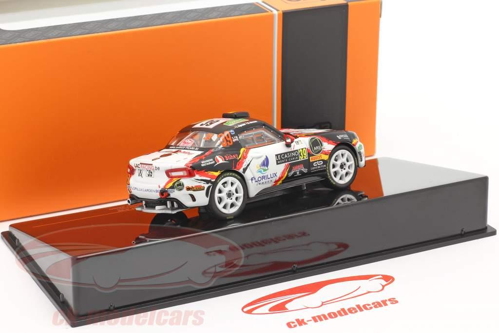 Fiat Abarth 124 RGT #39 Rallye Monte Carlo 2020 Caprasse, Herman 1:43 Ixo