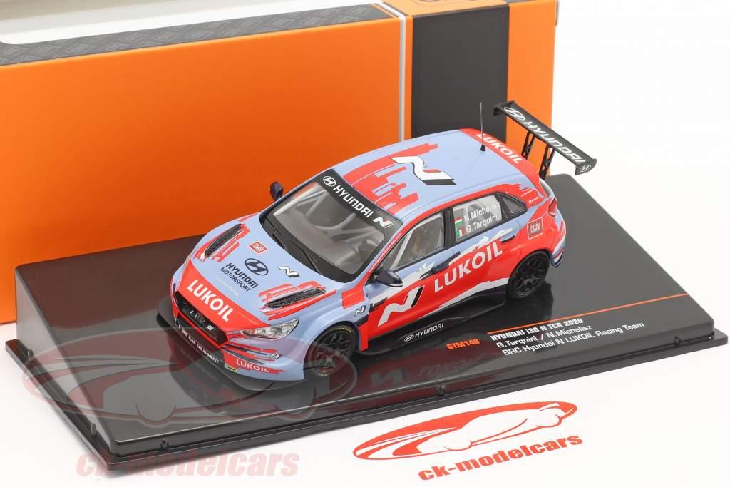 Hyundai i30 N TCR Presentation Car WTCR 2020 BRC Hyundai N LUKOIL 1:43 Ixo