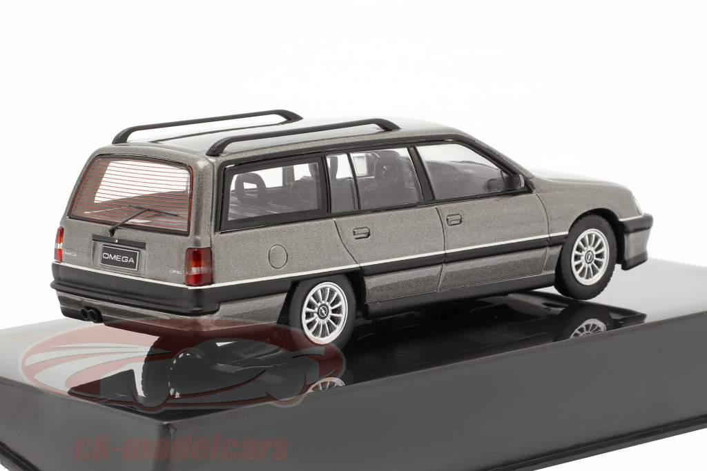 Opel Omega A2 Caravan an 1990 gris métallique 1:43 Ixo
