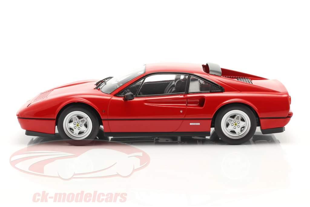 Ferrari 328 GTB Byggeår 1985 rød 1:18 KK-Scale