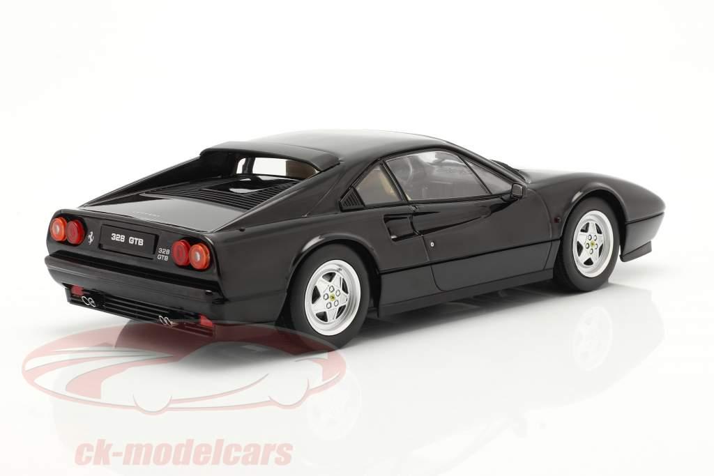 Ferrari 328 GTB Anno di costruzione 1985 nero 1:18 KK-Scale