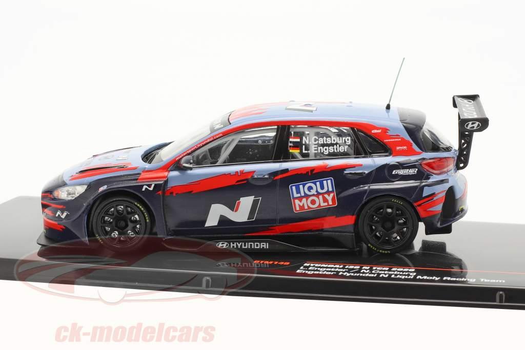 Hyundai i30 N TCR Presentation Car WTCR 2020 Engstler Hyundai N Liqui Moly 1:43 Ixo