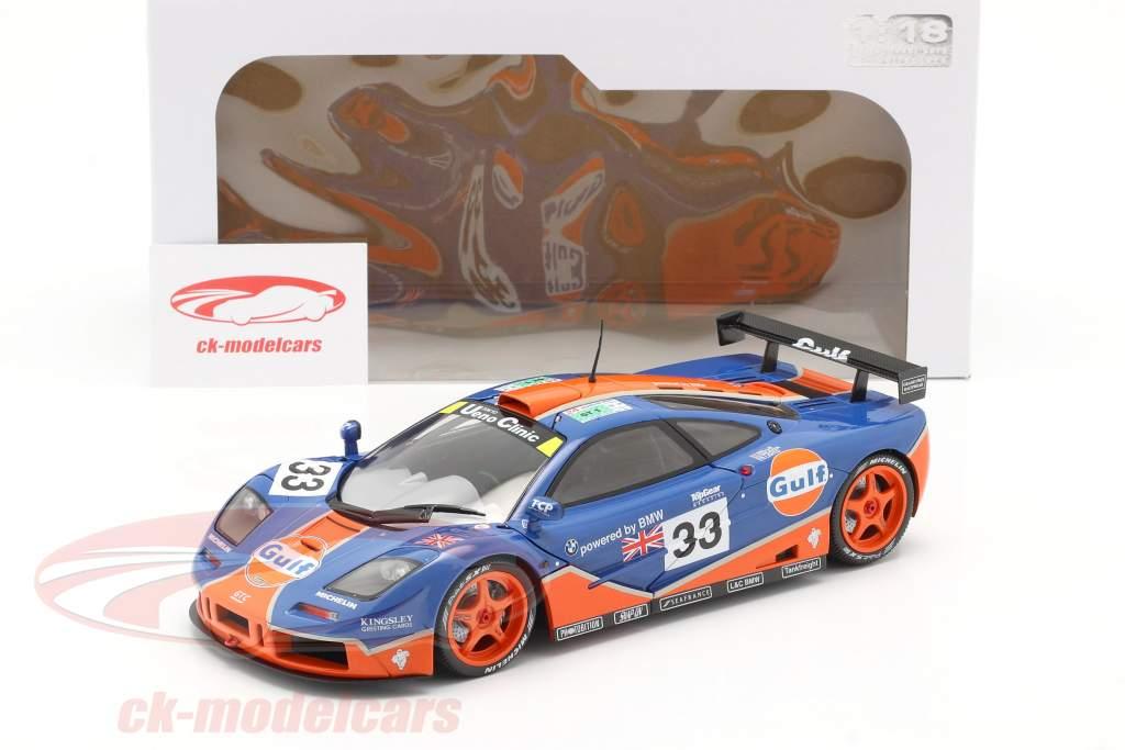 McLaren F1 GTR #33 Noveno 24h LeMans 1996 Gulf Racing 1:18 Solido