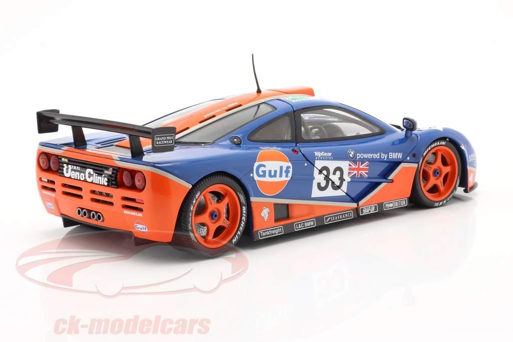 McLaren F1 GTR #33 9. 24h LeMans 1996 Gulf Racing 1:18 Solido