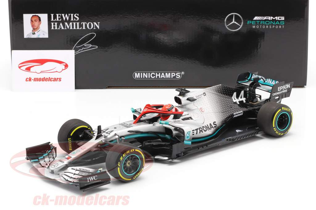 L. Hamilton Mercedes-AMG F1 W10 #44 Monaco GP Campeão mundial F1 2019 1:18 Minichamps