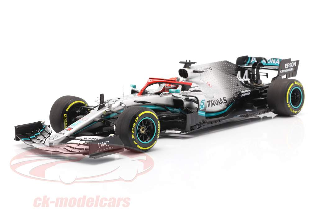 L. Hamilton Mercedes-AMG F1 W10 #44 Monaco GP Weltmeister F1 2019 1:18 Minichamps