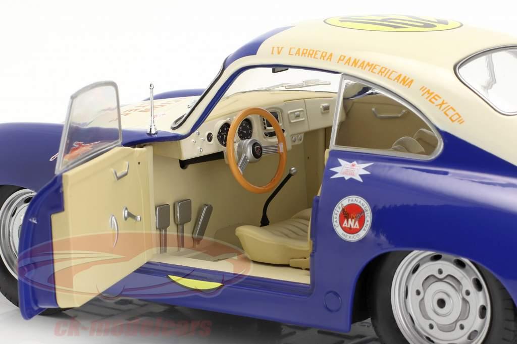 Porsche 356 Super #162 Carrera Panamericana 1953 Lippmann 1:18 Solido