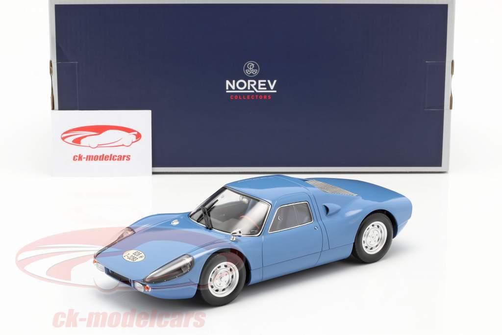 Porsche 904 GTS Année de construction 1964 bleu 1:18 Norev