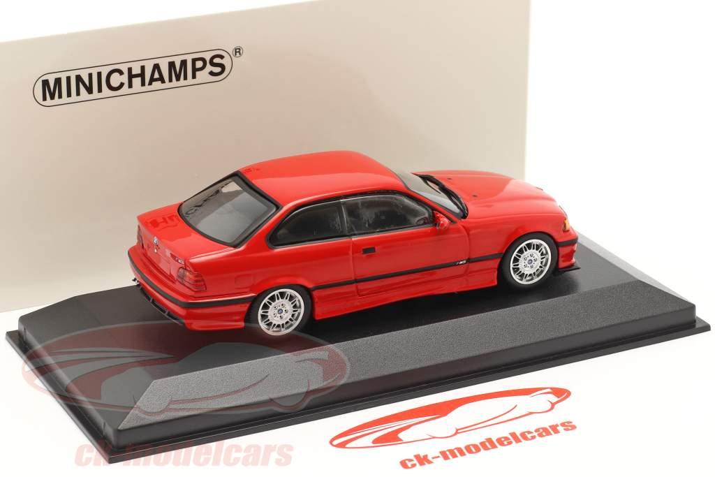 BMW M3 (E36) Ano de construção 1992 mugello vermelho 1:43 Minichamps