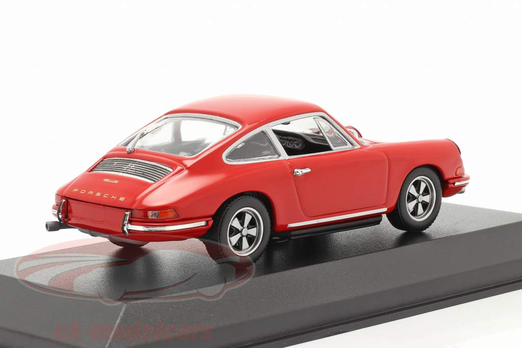 Porsche 911 Byggeår 1964 vagter rød 1:43 Minichamps