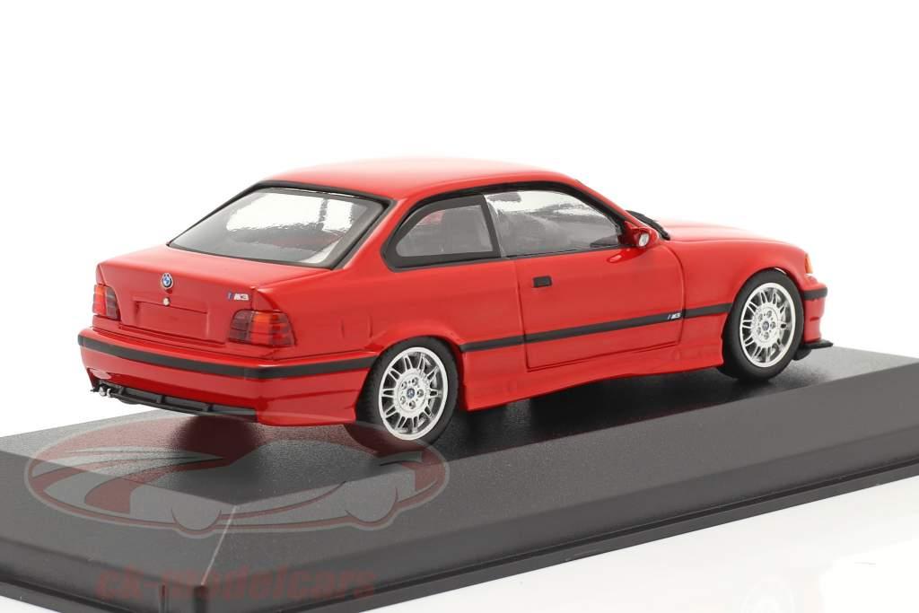 BMW M3 (E36) Baujahr 1992 mugello rot 1:43 Minichamps