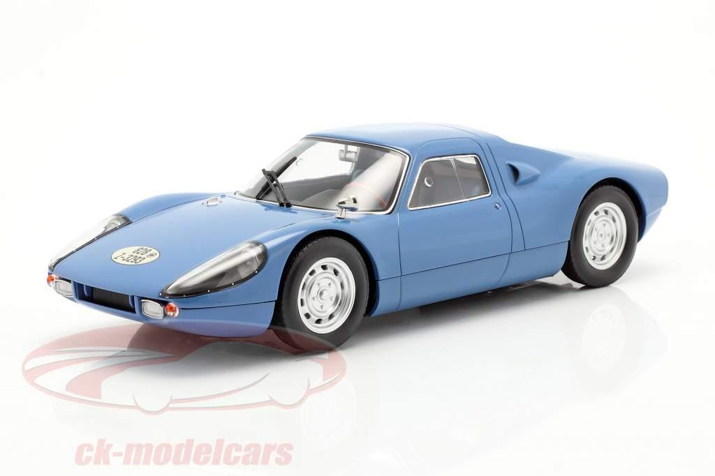 Porsche 904 GTS Byggeår 1964 blå 1:18 Norev