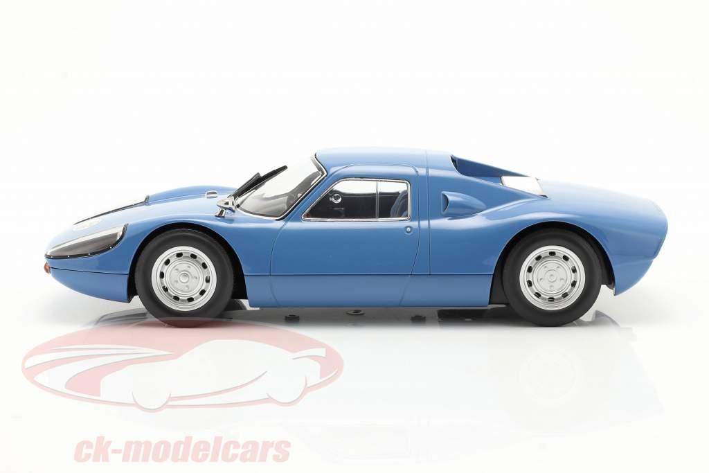 Porsche 904 GTS Bouwjaar 1964 blauw 1:18 Norev